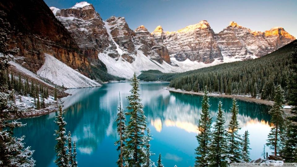 Beautiful Moraine Lake Alberta Canada 1000 Lonely Places