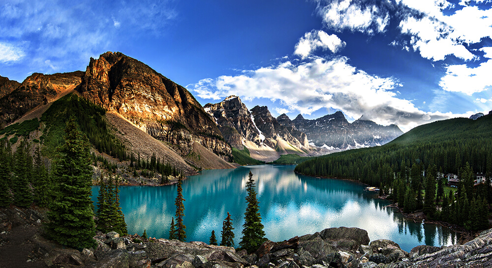 Beautiful Moraine Lake Alberta Canada 1000 Lonely Places