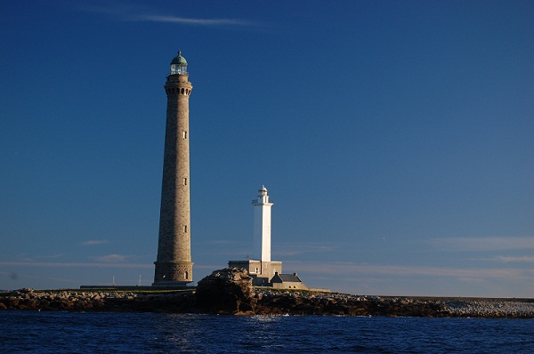 ILE VIERGE LIGHTHOUSE IN FRANCE