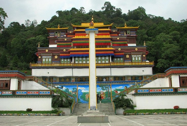 RUMTEK BUDDHIST MONASTERY, GANGTOK