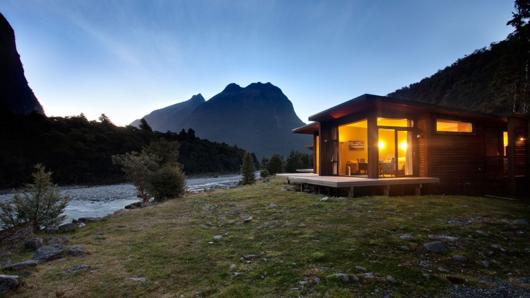 THE LODGE IN MILFORD SOUND, NEW ZEALAND