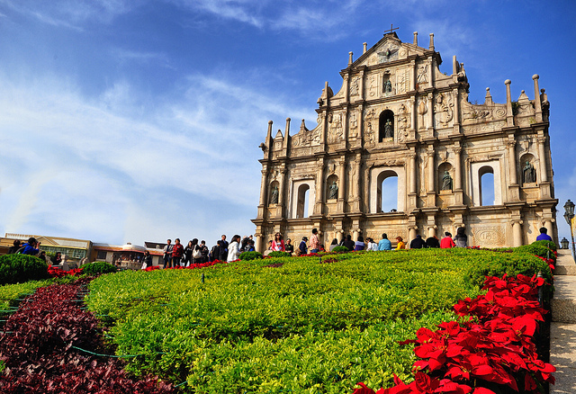 Grounds of the Ruins of St. Paul's at Macau