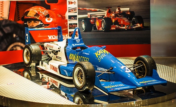 FANTASTIC CAR AT THE GRAND PRIX MUSEUM MACAU