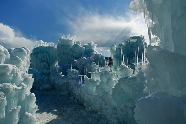 ICE CASTLES IN SILVERTHORNE