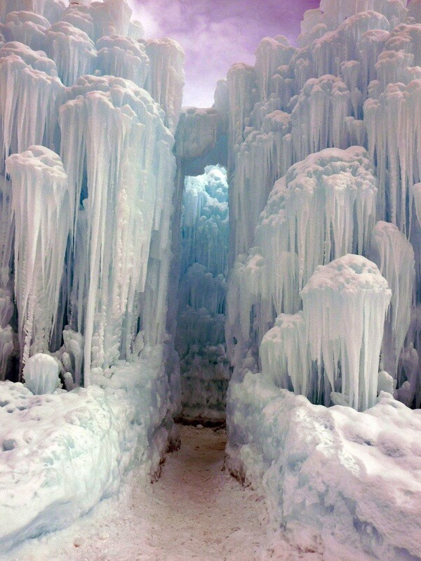Ice Castles In Silverthorne Colorado 1000 Lonely Places
