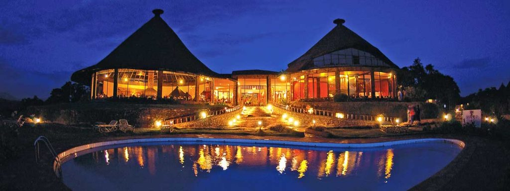 NGORONGORO LODGE AT NIGHT