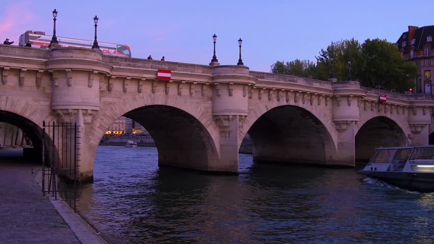 STANDING STRONG THE PONT NEUF BRIDGE