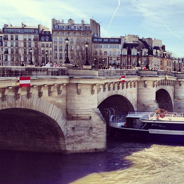 STRONG BUILT OF THE PONT NEUF