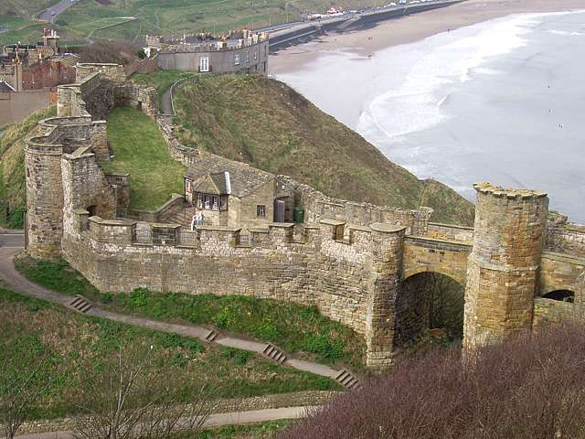 THE COASTLINE AND THE SCARBOROUGH CASTLE