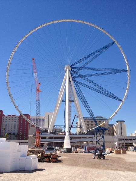 THE HIGH ROLLER UNDER CONSTRUCTION