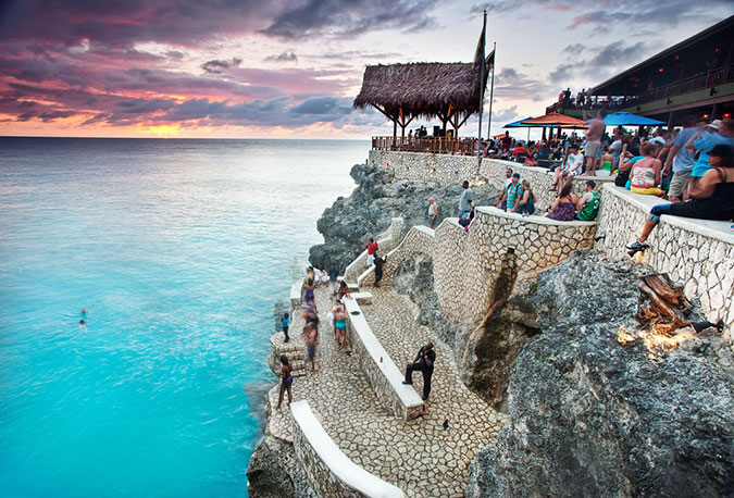 THE WORLD FAMOUS RICK'S CAFE, NEGRIL, JAMAICA