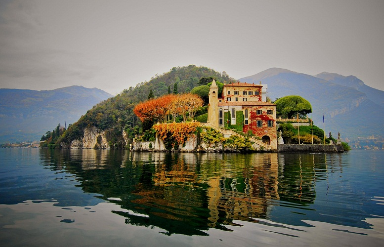 WHAT A VIEW!!! VILLA DEL BALBIANELLO , LAKE COMO, ITALY