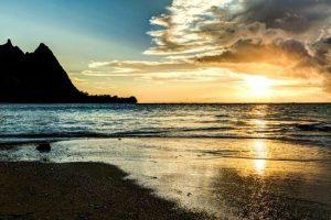 BALI HAI SUNSET, KAUAI, HAWAII