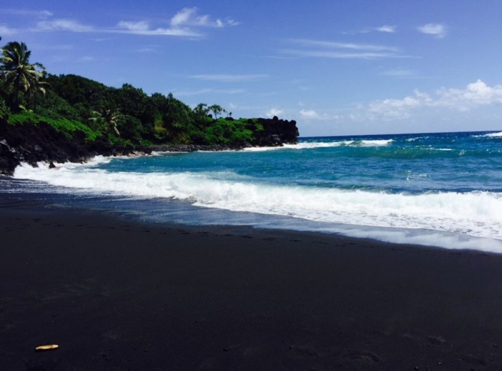 BLACK BEACH, MAUI, HAWAII