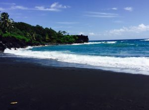 BLACK BEACH, MAUI, HAWAII