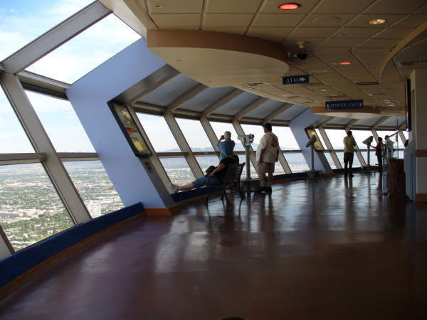 INSIDE THE OBSERVATION DECK