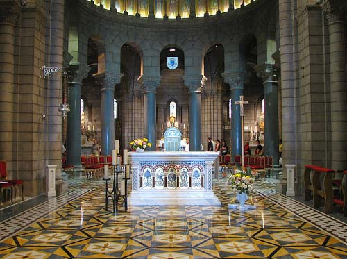 Monte Carlo  - Cathedral's Altar