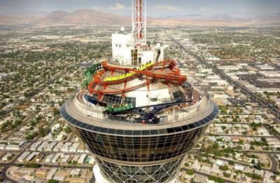 TOP OF THE STRATOSPHERE TOWER, LAS VEGAS